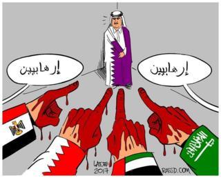 قطر کارٹون