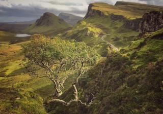 Landscape of Skye