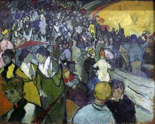 """""""Arena em Arles"""", de Vincent Van Gogh"""