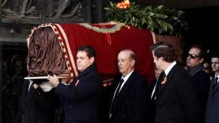 труна Франко