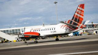 Loganair aircraft