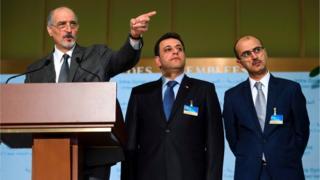 بشار الجعفري، رئيس وفد الحكومة السورية