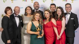 BBC Radio Foyle received gold in the News Story category