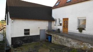 The residence of the suspects on 2 May 2016 in Bosseborn village near Hoexter, Germany