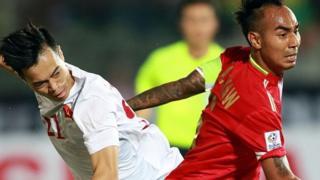 Việt Nam thắng chủ nhà Myanmar 2-1 ngày 20/11