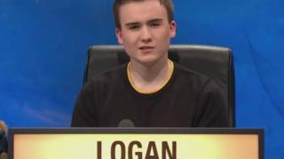 Alasdair Logan answered 16 questions correctly for the Strathclyde University team