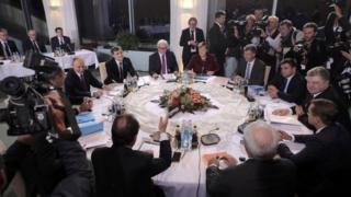 Talks in Berlin. Photo: 19 October 2016