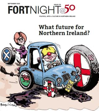 The cover of Fortnight