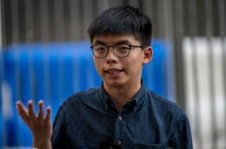 Ý định ra tranh cử địa phương của Joshua Wong đã thất bại