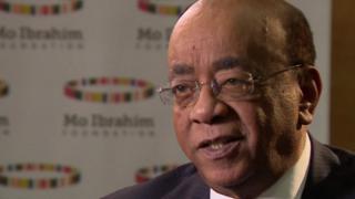 Mo Ibrahim fustige les complices de la corruption en Afrique.