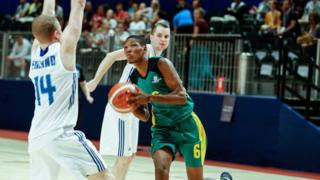 Jamaican basketball team fights Finland during Special Olympics World Games in Abu Dhabi
