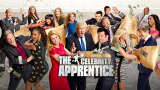 Donald Trump was the host of the Apprentice and the Celebrity Apprentice on NBC