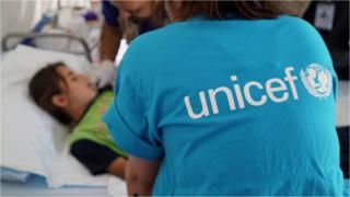 timoed UNICEF yn ceisio helpu