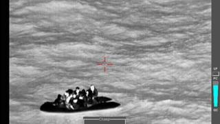 Refugee helicopter refugee
