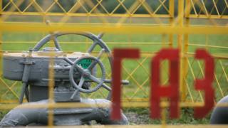 Распределительная газовая станция в Белоруссии