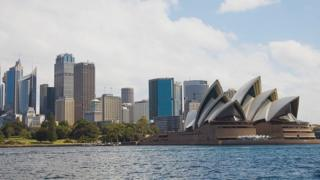 Umujyi wa Sydney, umurwa mukuru wa Australia