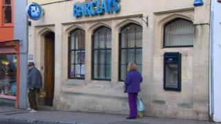 Barclays in Glastonbury