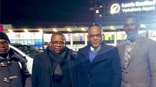 IPOB leader Nnamdi Kanu arrive UK.