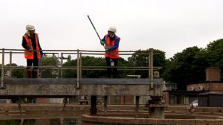 Sampling wastewater