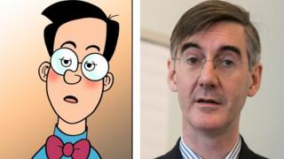 Walter the Softy and Jacob Rees Mogg