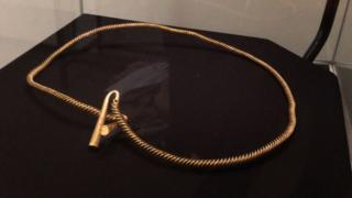 Bronze Age gold torc, Ely Museum