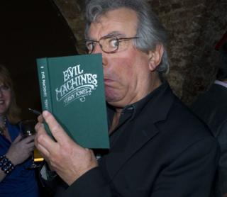 in_pictures The Launch of Evil Machines by Terry Jones