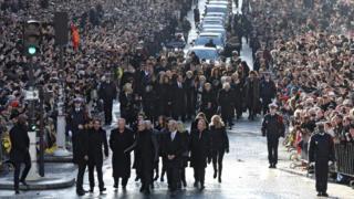 Похороны Джонни Холлидея