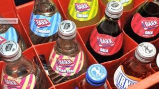 AG Barr bottles
