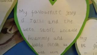 Evie's favourite is Jack and the Beanstalk.