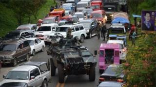 Sheria ya kijeshi iliwekwa kwenye kisiwa cha Mindanao kutokana na machafuko mjini Marawi