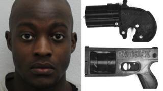 Tendai Muswere and the 3D guns