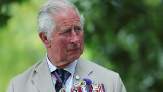 Britain's Prince Charles attends the VJ Day National Remembrance event, held at the National Memorial Arboretum in Staffordshire, Britain