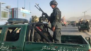 سرباز نیروی امنیتی کابل