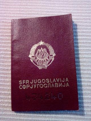 Pasoš SFRJ