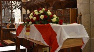 Frank Le Villio's coffin