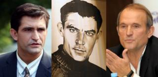 Василя Стуса у стрічці зіграв актор Дмитро Ярошенко (ліворуч)