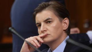 Премијерка Ана Бранбић