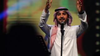 حفلة ماجد المهندس بسوق عكاظ في السعودية.
