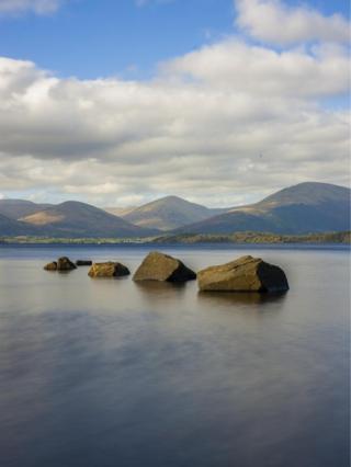 SJ Ferguson took this photo on the banks of Loch Lomond