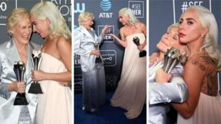Гленн Клоуз и Леди Гага
