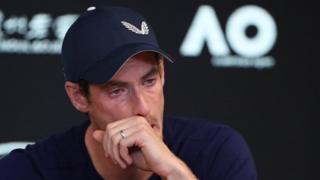 Andy Murray lors d'une conférence de presse, vendredi 11 janvier 2019, à Melbourne