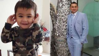 Adnan Ashraf Jarral and his son, Usman Adnan Jarral