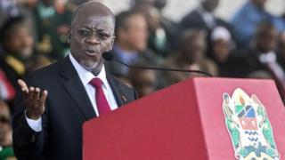 Perezida Magufuli yavuze ko ashaka ko ikipe y'igihugu y'umupira w'amaguru ya Tanzaniya itwara igikombe mu mikino y'Afurika yimirije