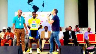 Areruya Josepf yatsinze irushanwa Tour de l'Espoir muri Cameroun