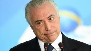 Michel Temer on 26 June 2017
