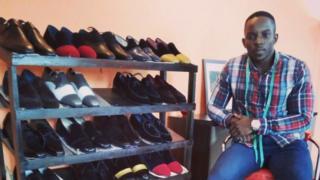 Vidal Kenmoe Shoes by Vidal Rémy Nsabimana Afrique Avenir BBC Afrique