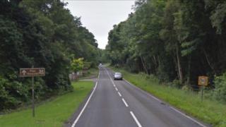 A4080 Brynsiencyn Road, Llanfairpwll