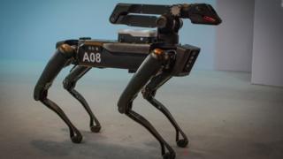 """Modelo """"Spot"""" de Boston Dynamics"""