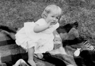 Diana quando criança