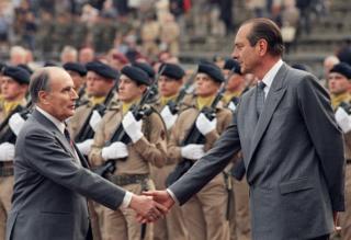 Міттеран та Ширак